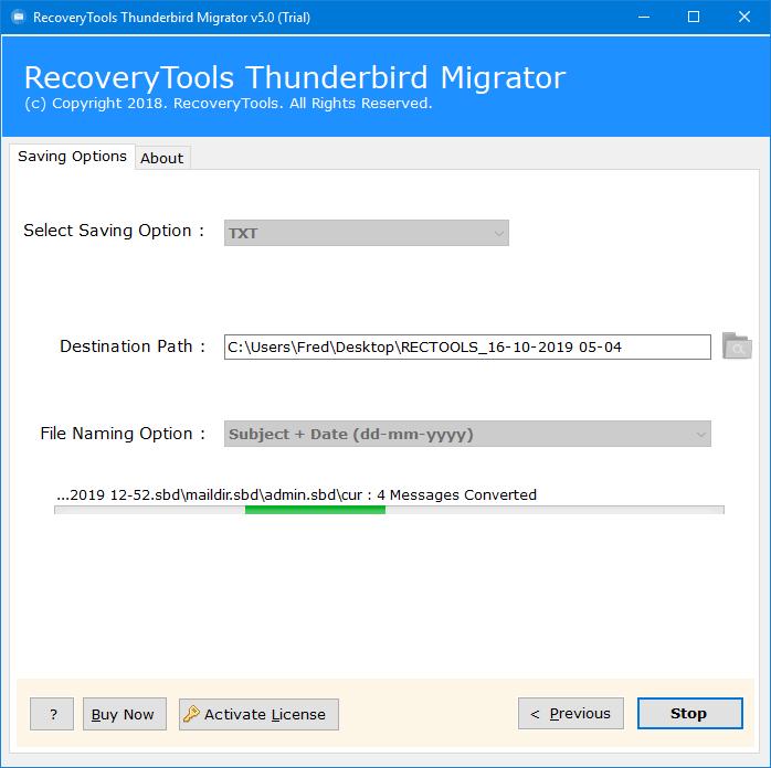 thunderbird convert email to plain text