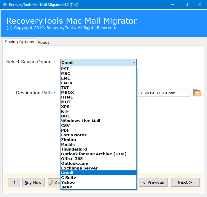 mac mail to gmail