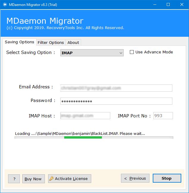 migrate mdaemon to hmailserver