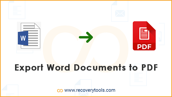 export word documents to pdf