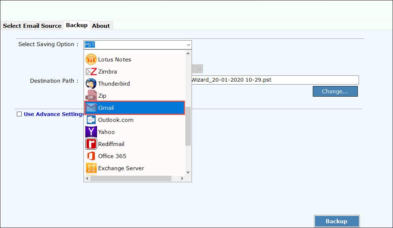 saving-option-gmail