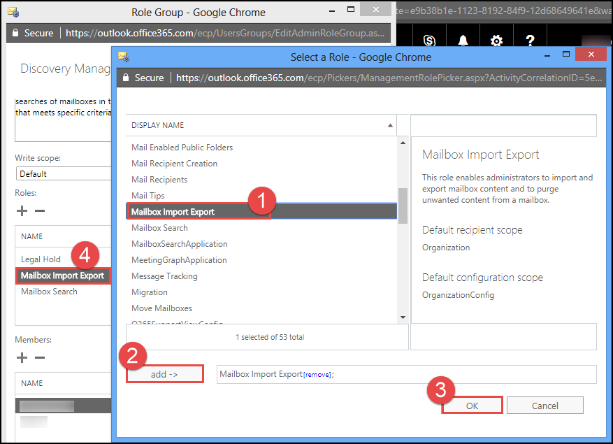 select Mailbox Import Export
