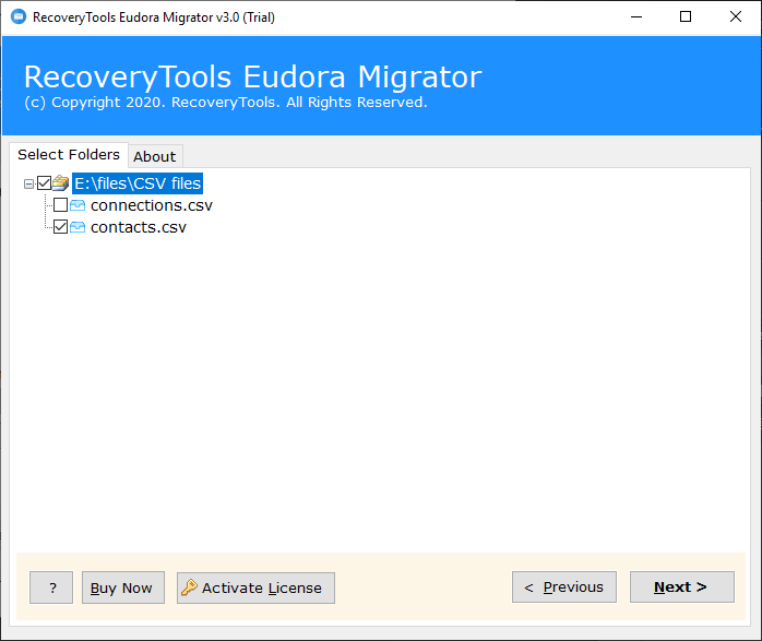 select the address books to export eudora address book to outlook