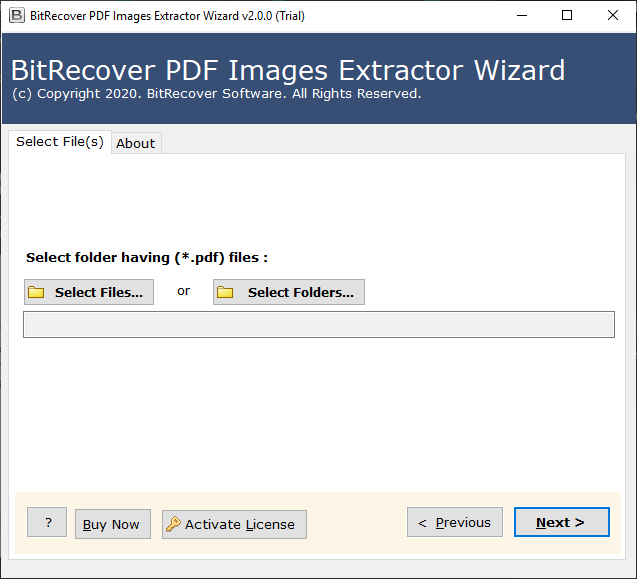 add pdf files to extract picture from pdf