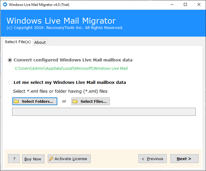 recover emails from windows live mail crash