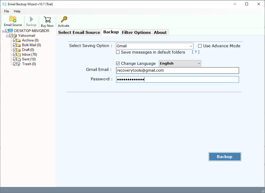 how to forward emails from charter to gmail