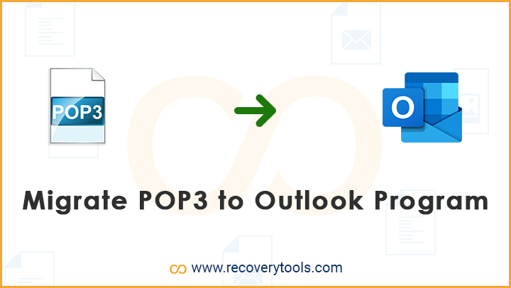 migrate pop3 to outlook