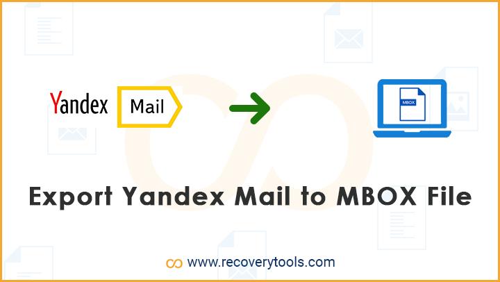 yandex mail to mbox converter