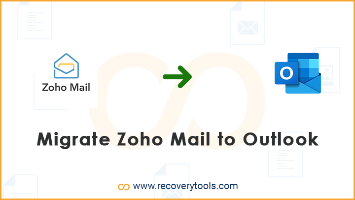 migrate zoho mail to outlook