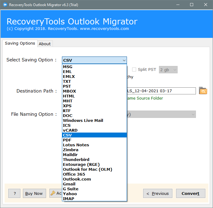 move outlook emails to excel