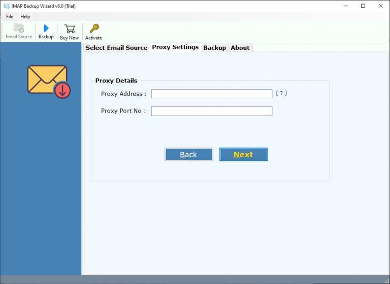 use proxy server