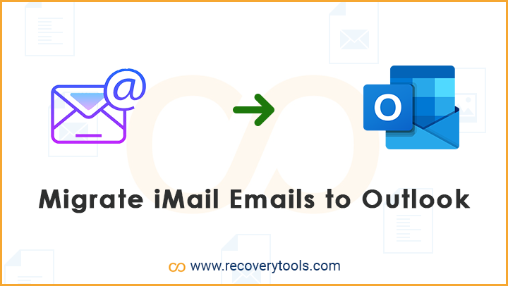 migrate imail emails to outlook