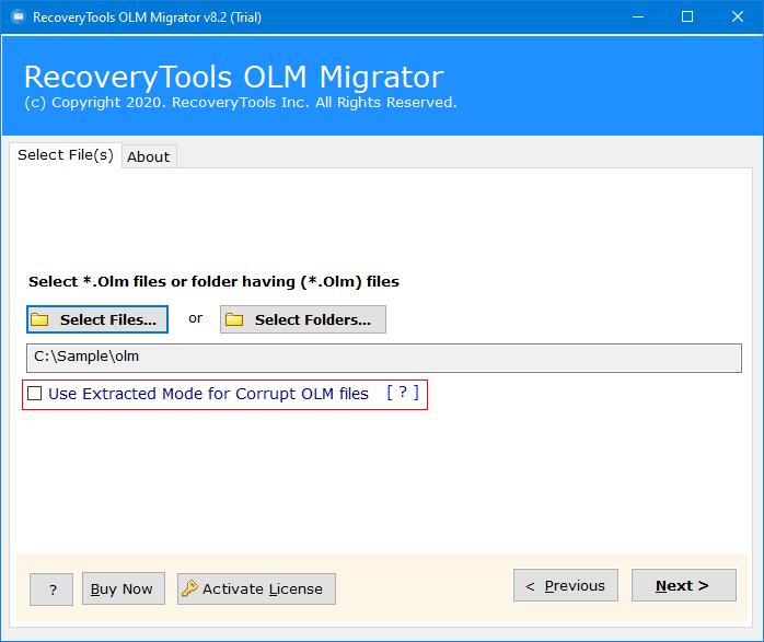 convert olm to pdf