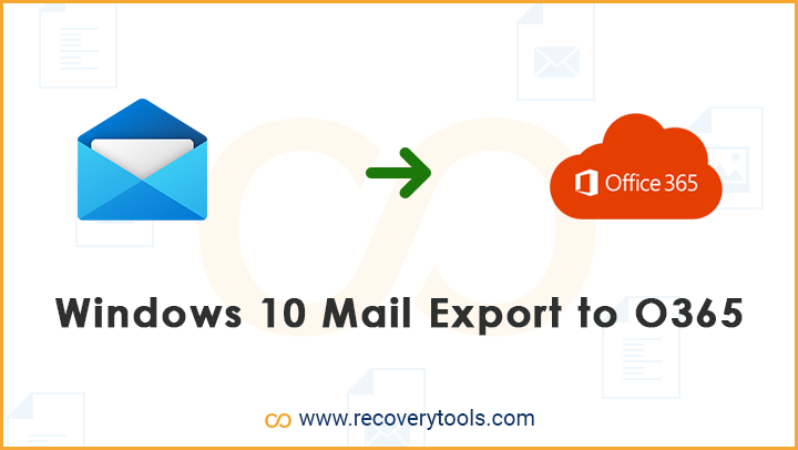 windows 10 mail export to office 365
