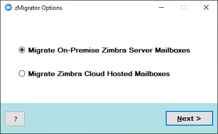 move zcs to another server