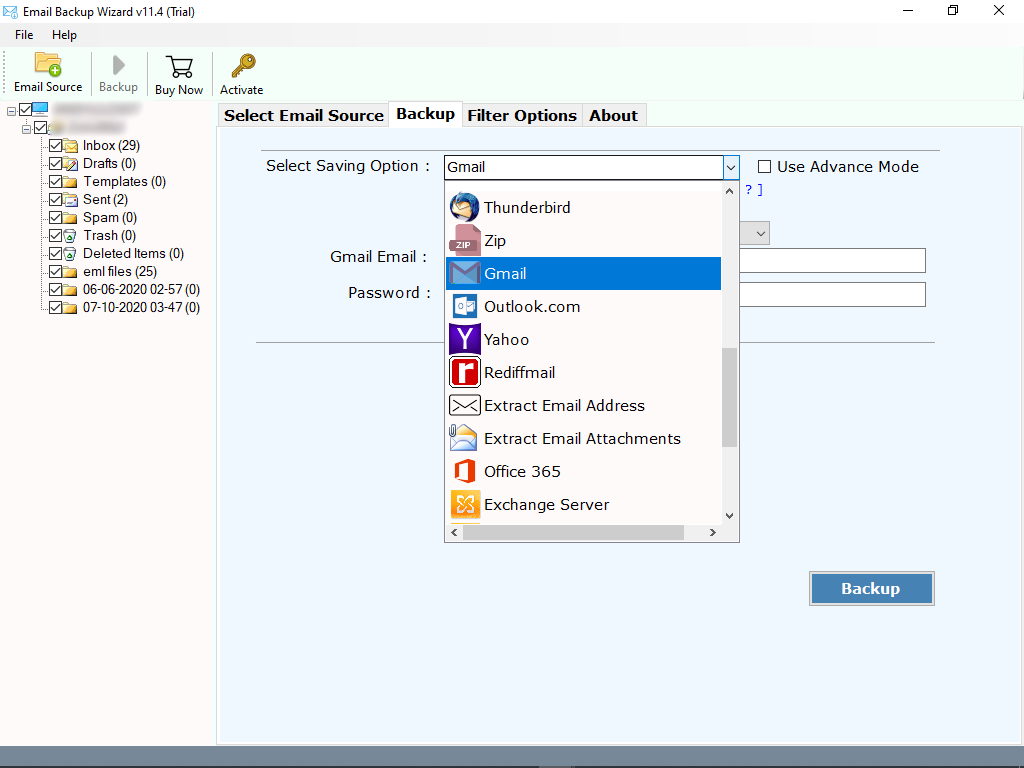 select-gmail