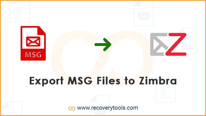 export msg files to zimbra