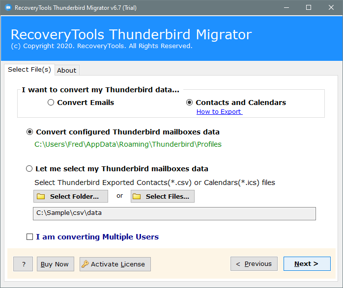 thunderbird address book export