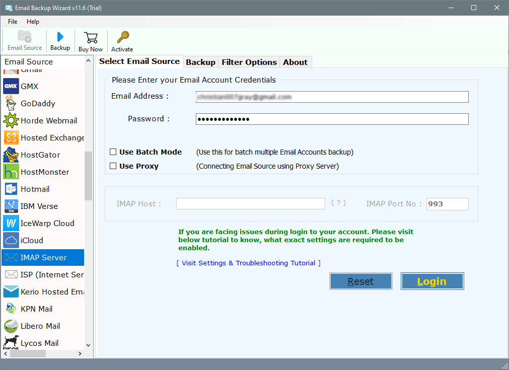 cpanel email backup