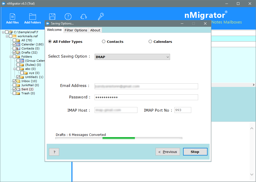 nsf files to cloud