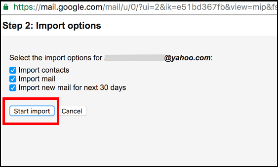 how to switch business email from yahoo to gmail