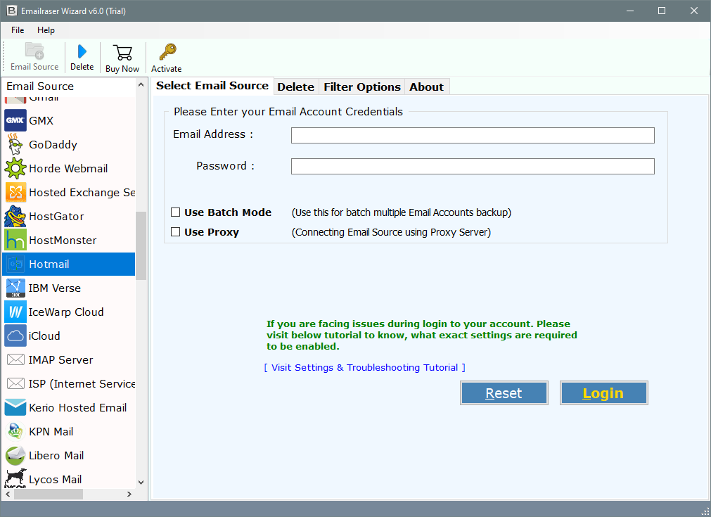 delete hotmail emails in bulk