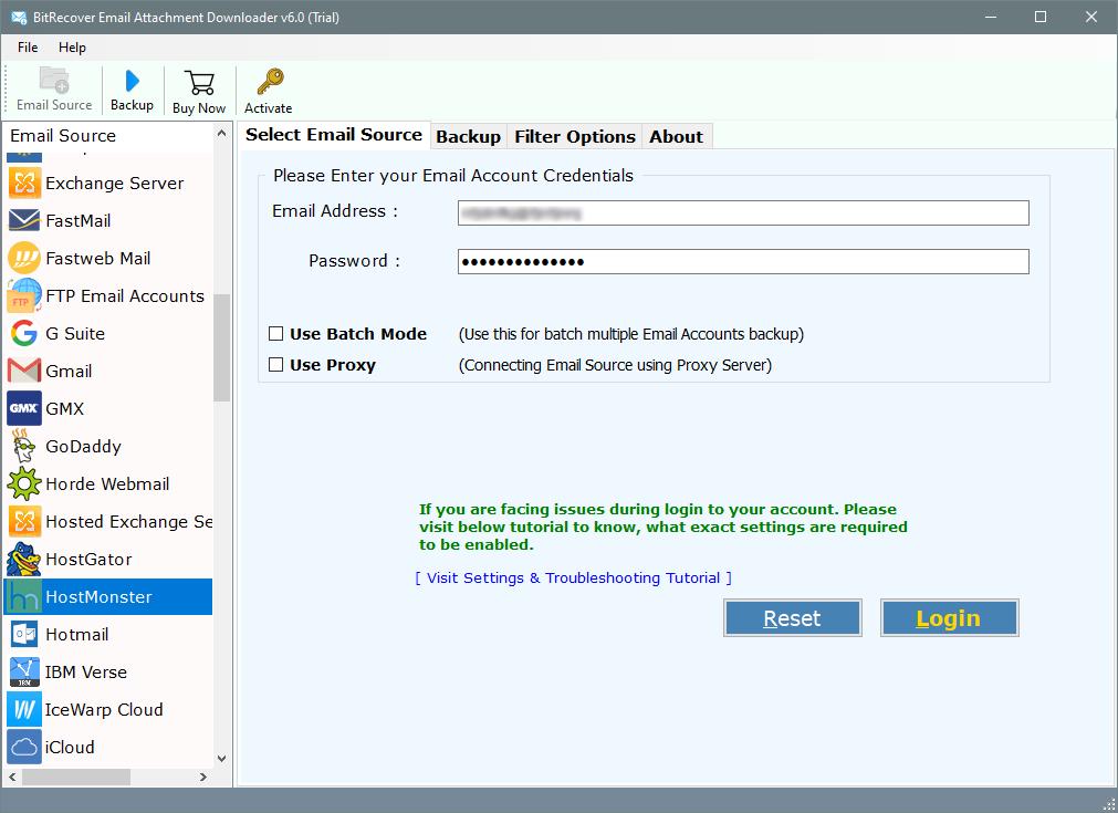hostmonster email attachment downloader