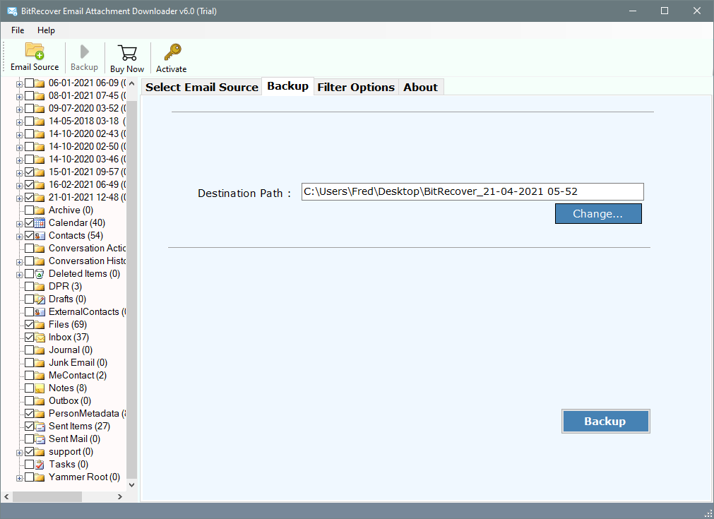 download email attachments from hostgator