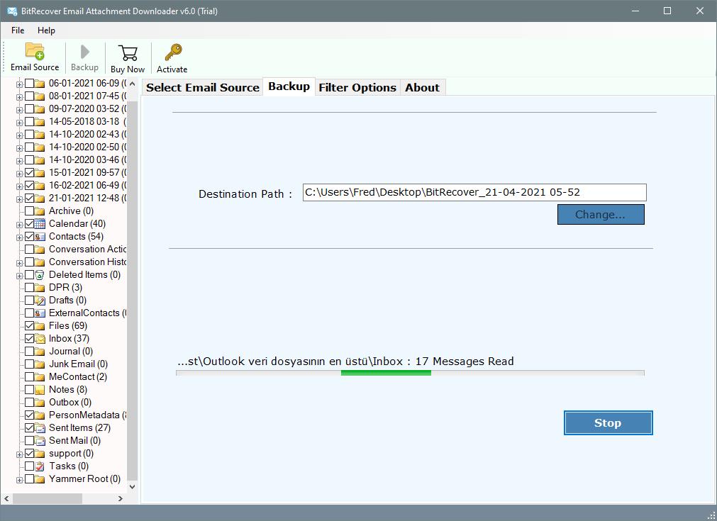 analyze hostgator email attachment download process