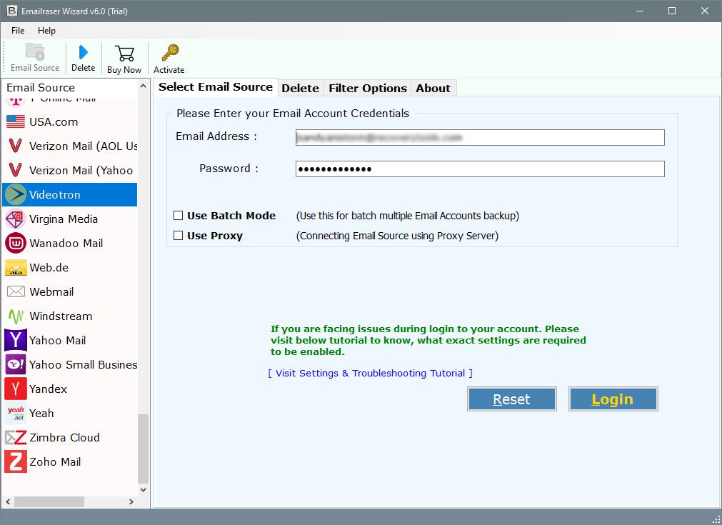clean videotron emails