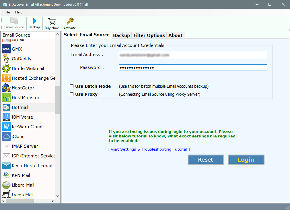 hotmail download all attachments