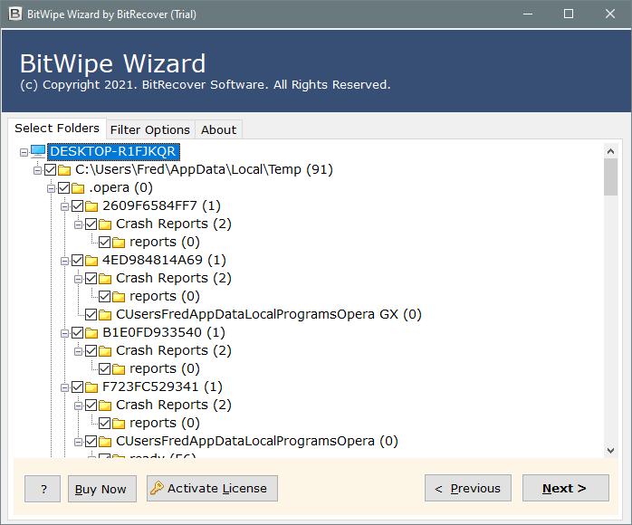 delete excel temp files windows 10