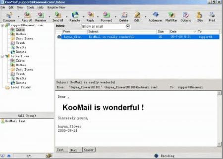 koomail icon