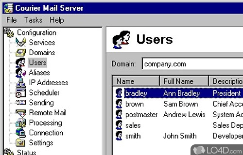 courier mail server