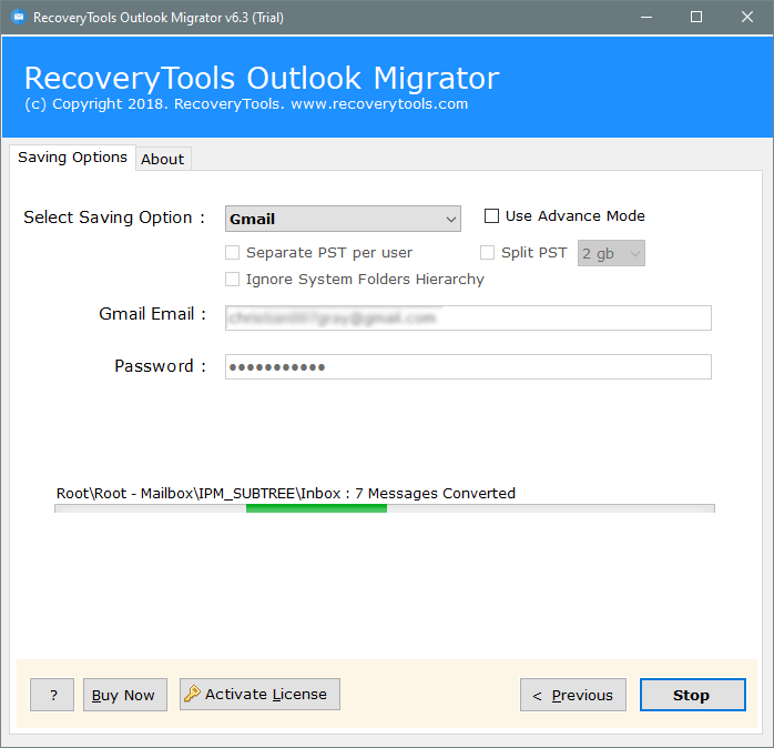 outlook ost to gmail