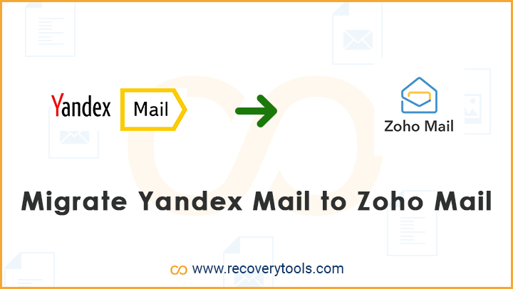 migrate yandex mail to zoho mail