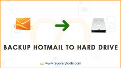 backup hotmail to hard drive