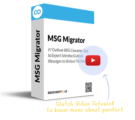 RecoveryTools MSG Migrator