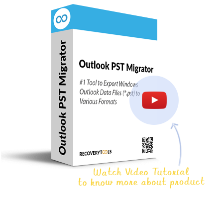 RecoveryTools PST Migrator