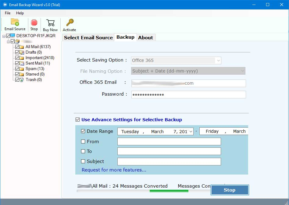 RecoveryTools AOL Backup Tool