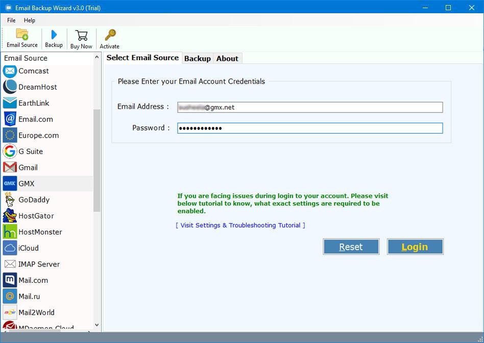 probleme mit gmx mail