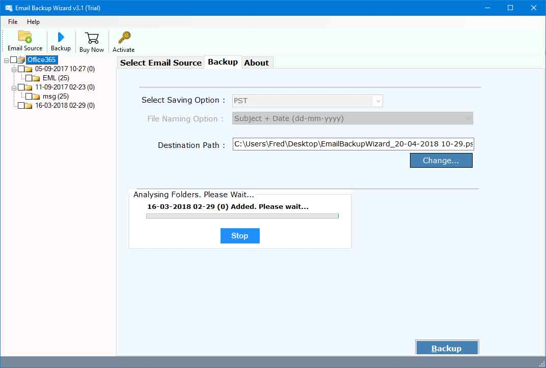 1 &1 Mail Backup Tool – How to Export Emails from 1and1 to