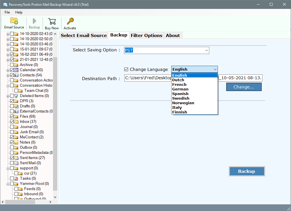 adding protonmail to outlook