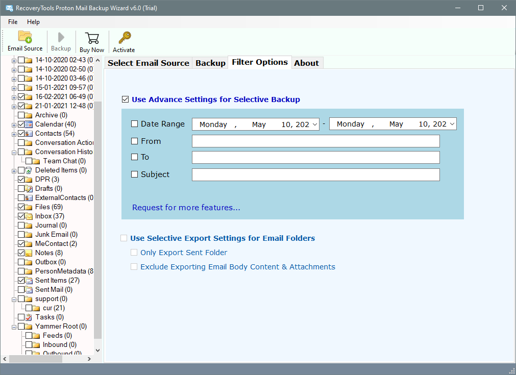 forward protonmail to outlook