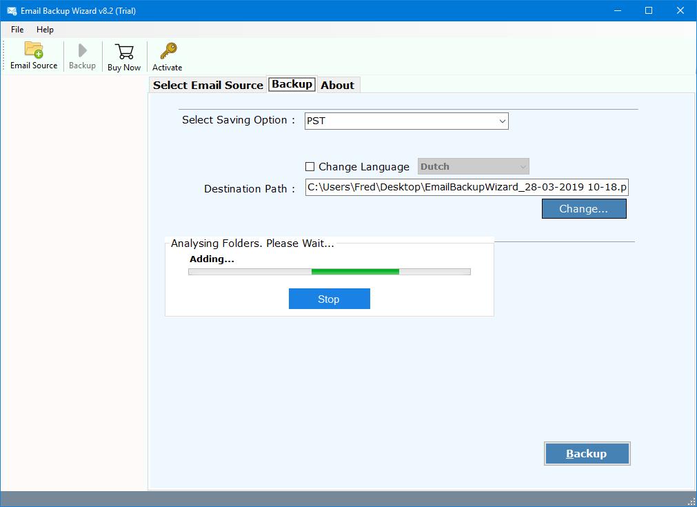 migrate zimbra cloud emails
