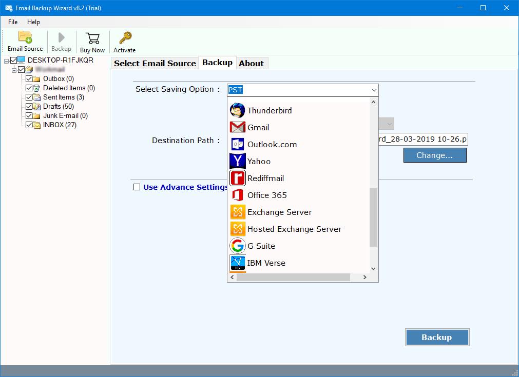 migrate zimbra webmail emails