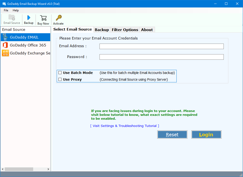 how to download emails from godaddy webmail