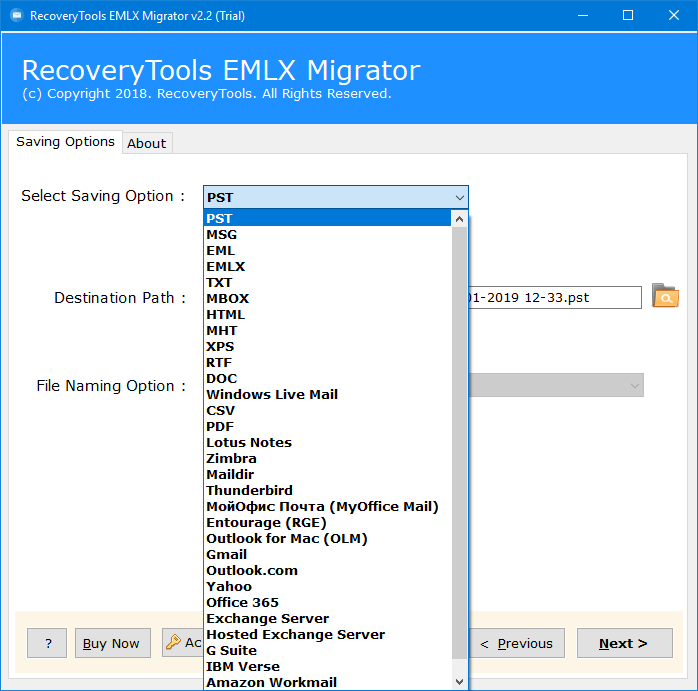 em client to outlook