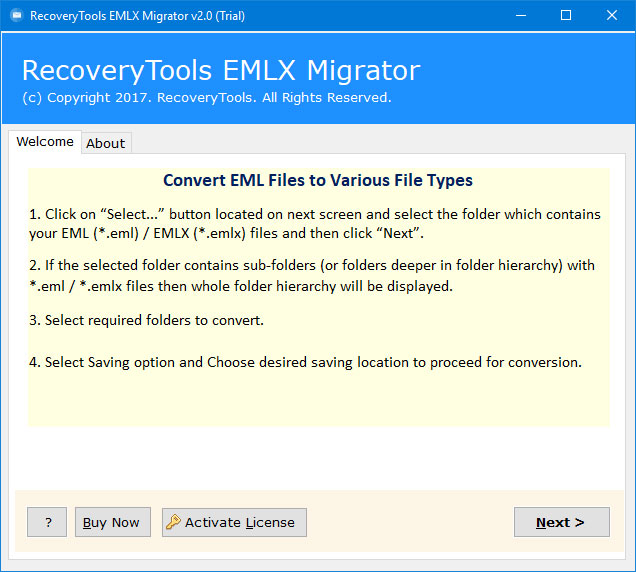 run em client converter