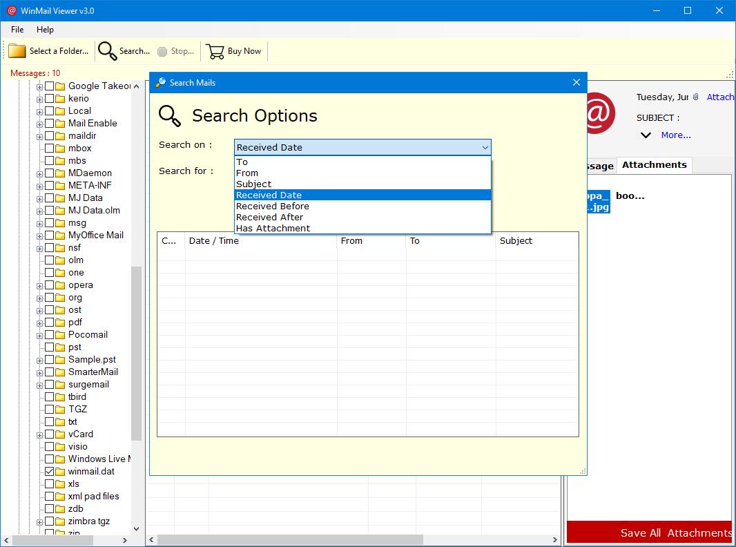 How To Open Winmaildat On Windows 10 Get Winmaildat Reader